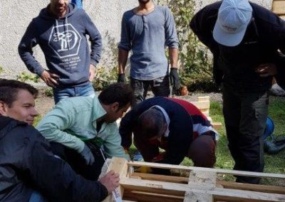 Palettensofa_Jugendarbeit_Flüchtlinge